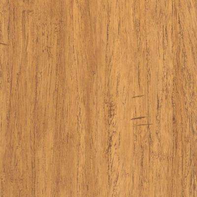 Take Home Sample - Strand Woven Bamboo Rio Vinyl Plank Flooring - 5 in. x 7 in.