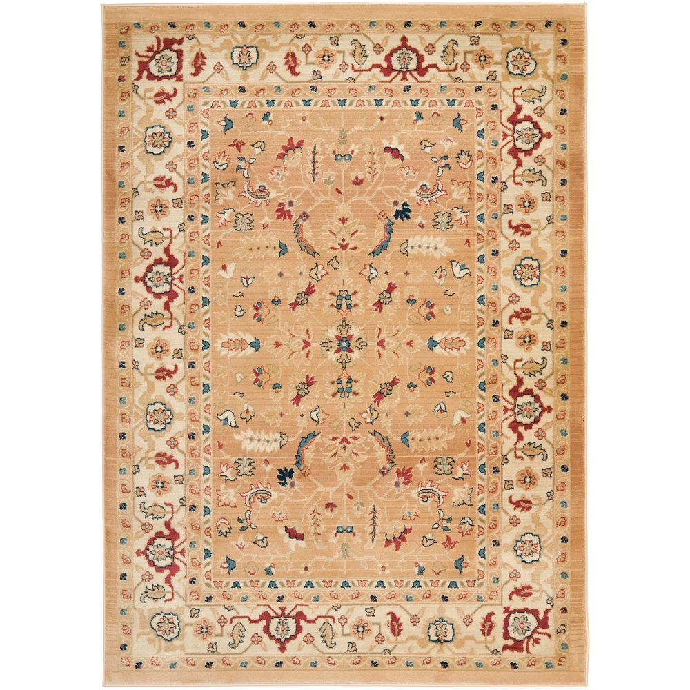 Safavieh Austin Dark Beige/Cream 4 ft. x 5 ft. 7 in. Area Rug