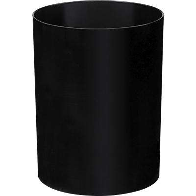 4.23 Gal. Black Round Trash Can