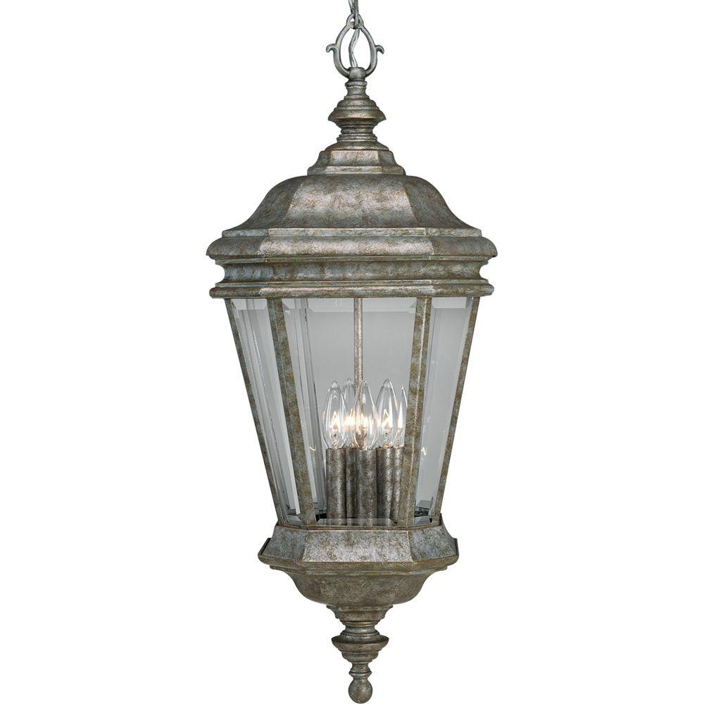 Progress Lighting Crawford Collection Golden Baroque 4-light Hanging Lantern-DISCONTINUED