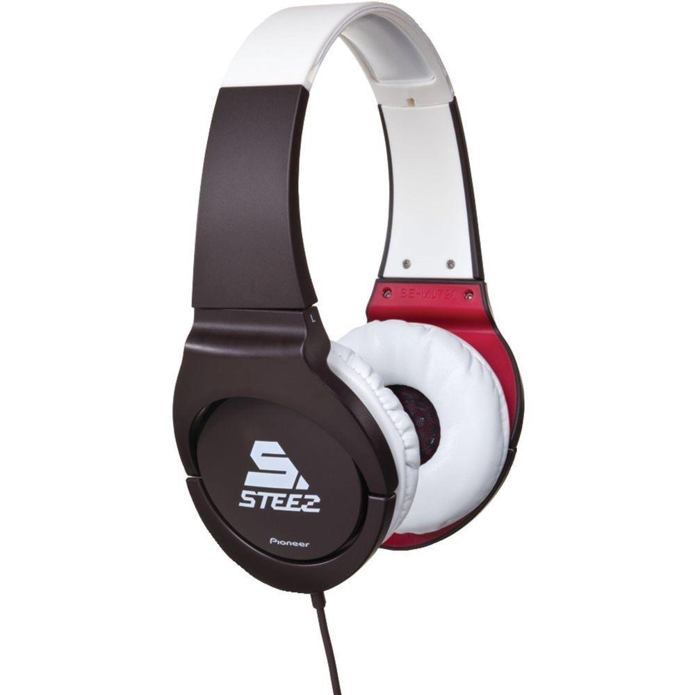 Pioneer Steez-On-Ear Stereo Headphone - Brown