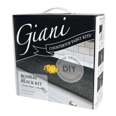 Bombay Black Countertop Paint Kit