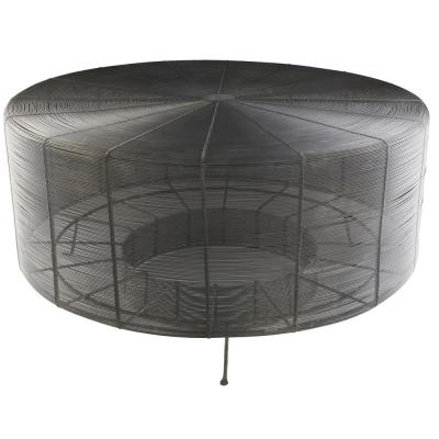 Aende 30 in. Black Centre Table