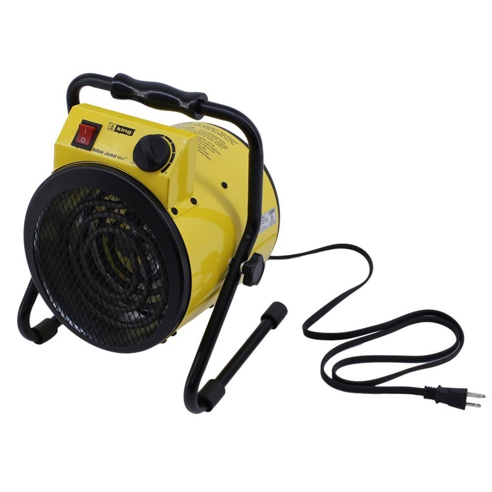 KING 1500-Watt 120-Volt Electric Portable Shop Heater
