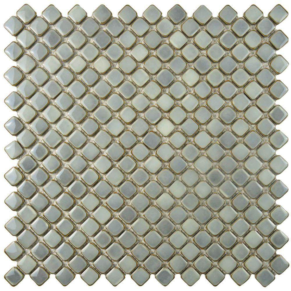 Hudson Diamond Grey Eye 12-3/8 in. x 12-3/8 in. x 5