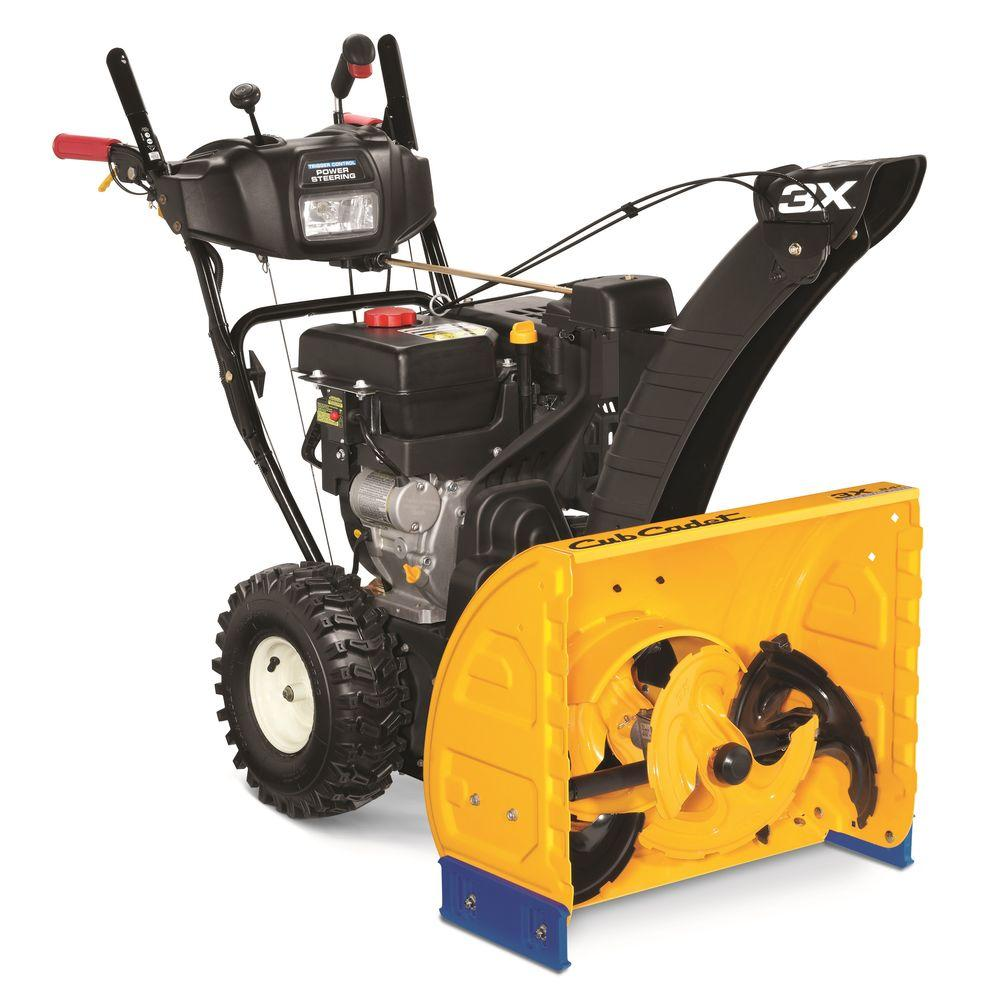 3X 24 in. 277cc 3-Stage Electric Start Gas Snow Blower with