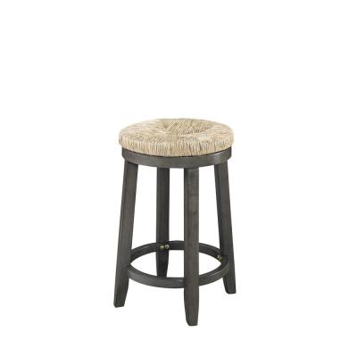 Mitchell 24 in. Grey Counter Stool