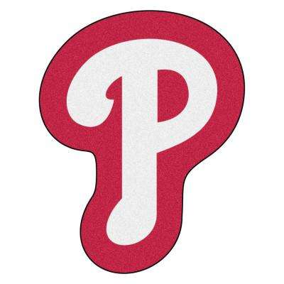 MLB - Philadelphia Phillies 30 in. x 38.3 in. Indoor Area Rug Mascot Mat