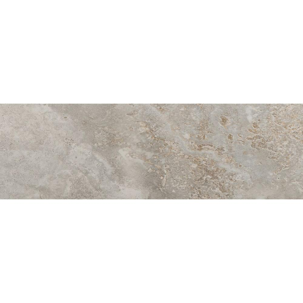Lucerne Matterhorn 3 in. x 13 in. Single Bullnose Porcelain Floor
