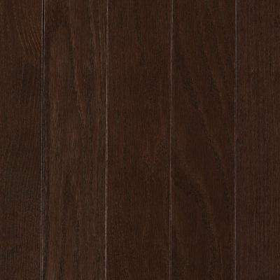 Take Home Sample - Raymore Oak Chocolate Hardwood Flooring - 5 in. x 7 in.