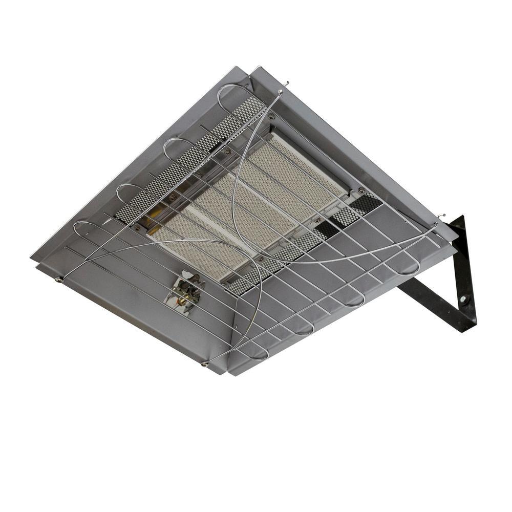 22,000 BTU Natural Gas Overhead Infrared Garage Heater