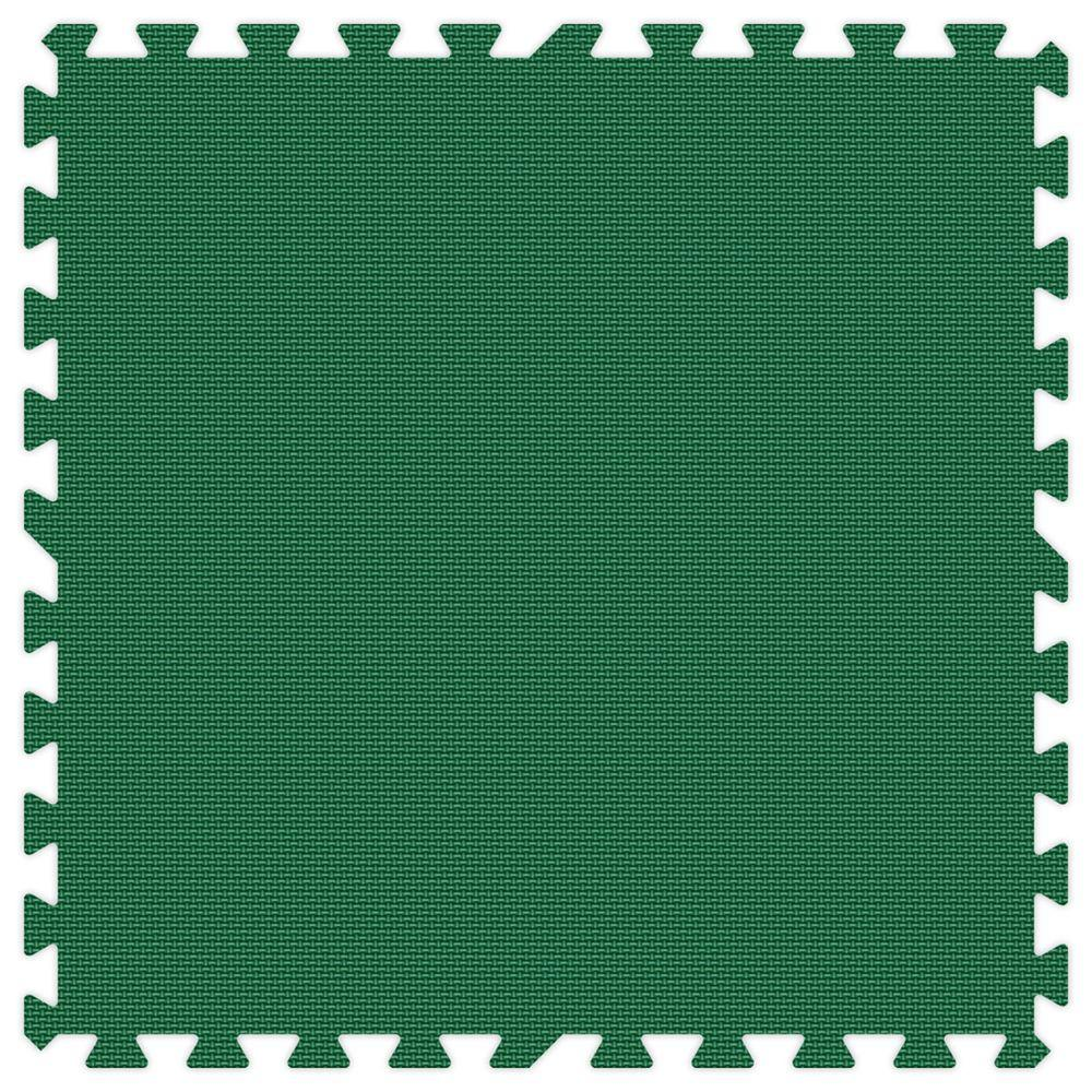 Groovy Mats Green 24 in. x 24 in. Comfortable Mat (100 sq.ft. / Case)