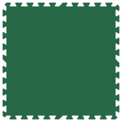 Green 24 in. x 24 in. Comfortable Mat (100 sq.ft. / Case)