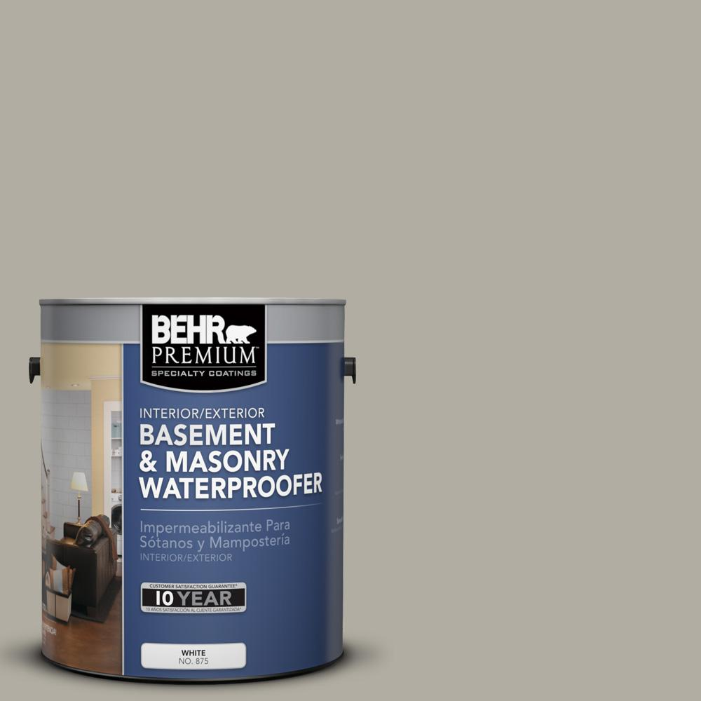 behr premium 1 gal 876 basement gray basement and masonry waterproofer 87601 the home depot. Black Bedroom Furniture Sets. Home Design Ideas