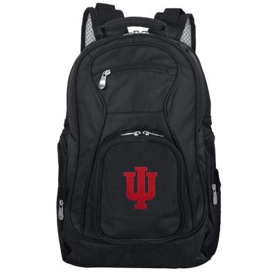 Denco NCAA Indiana Laptop Backpack, Black
