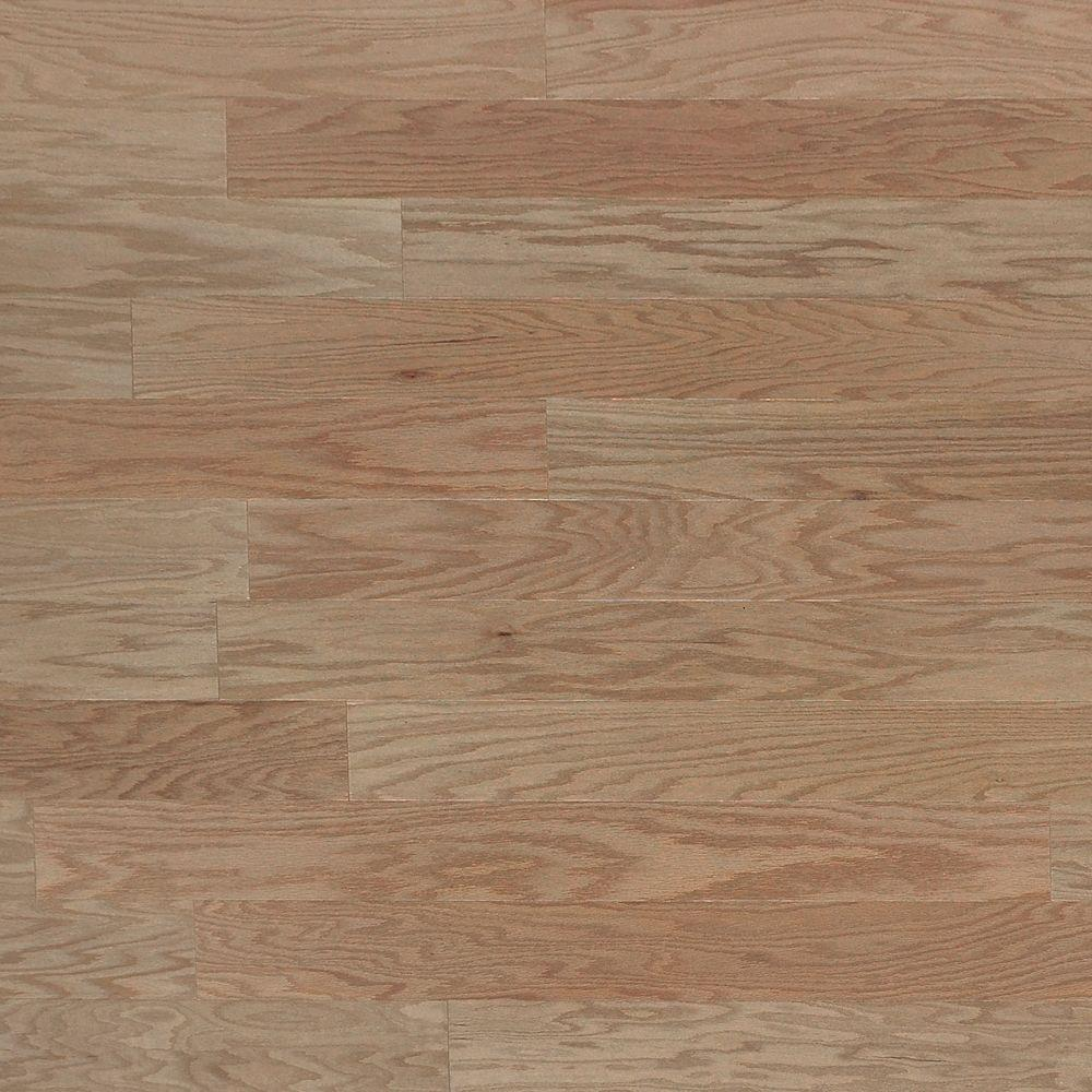 Heritage mill oak shadow 3 4 in thick x 4 in wide x for Real solid wood flooring
