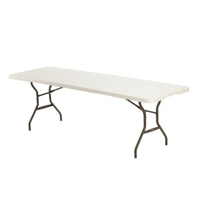 Lifetime 8 ft. Fold-in-Half Table; Almond