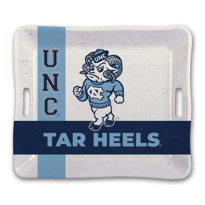 North Carolina UNC Melamine Serving Tray