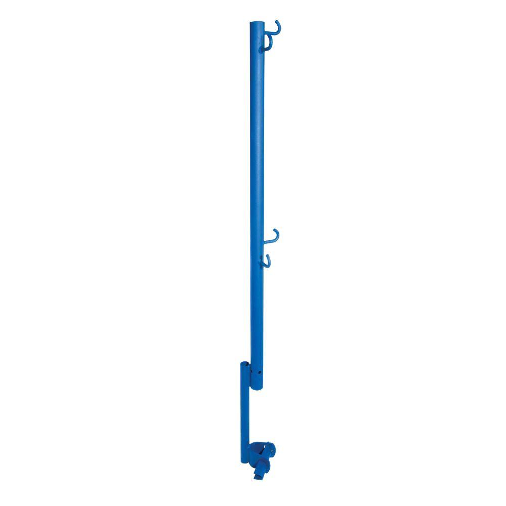 Guard Rail Post with Wedge Clamp Support