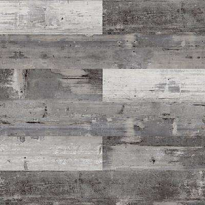 COLORS Floor and Wall DIY Mambo Wood Aged 6 in. x 36 in. Painted Style Glue Down Luxury Vinyl Plank (30 sq. ft. / case)