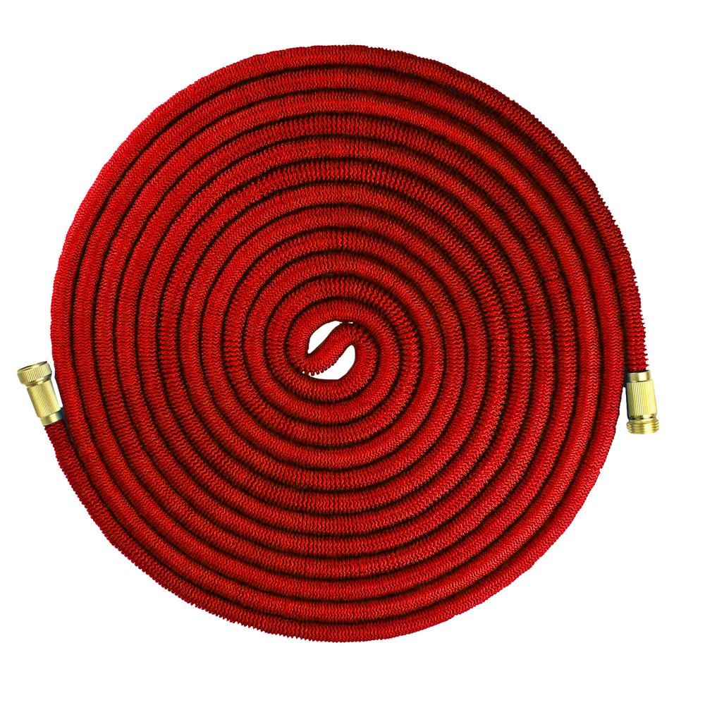 Emsco 3/4 in. Dia x 100 ft. Expandable Hose with Spray Nozzle