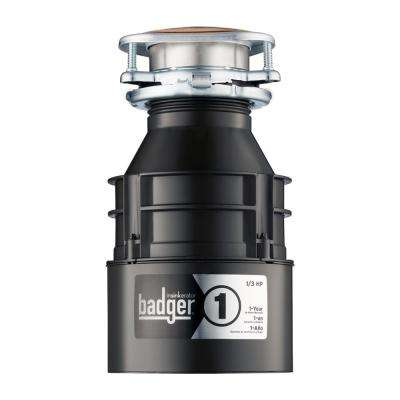 1/3 HP Badger 1 Continuous Feed Garbage Disposal
