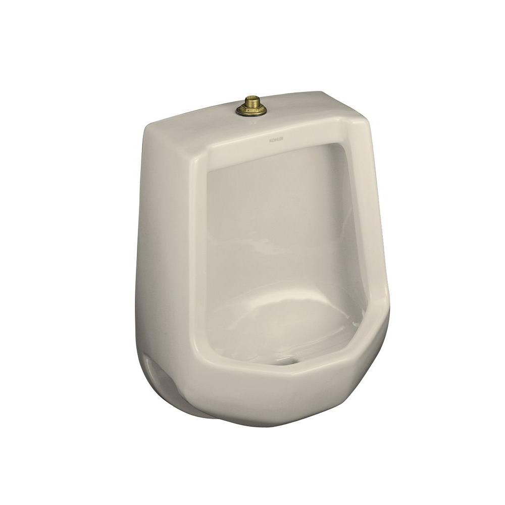 KOHLER Freshman 1.0 GPF Urinal with Top Spud in Almond