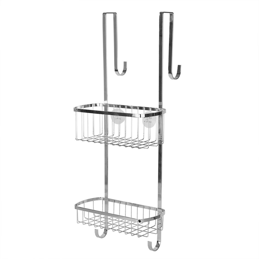 Over the Door Shower Caddy in Chrome