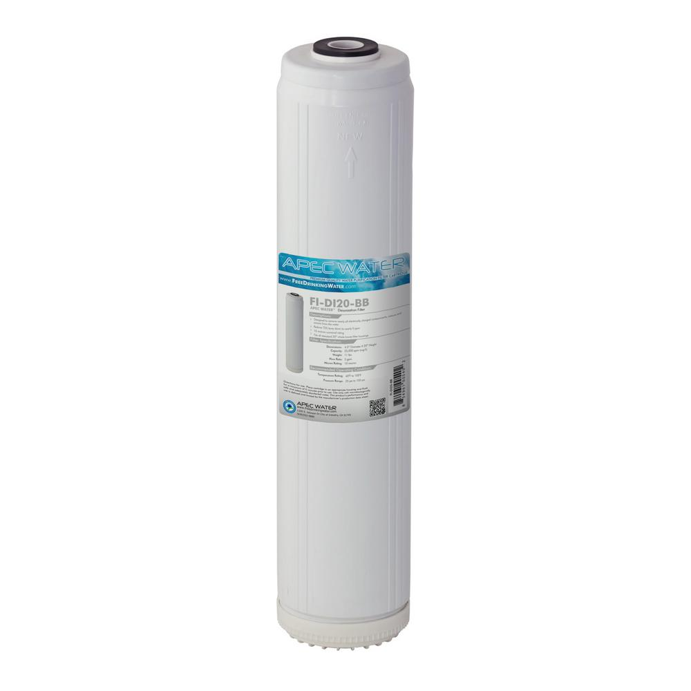 20 in. Whole House De-Ionization Replacement Water Filter