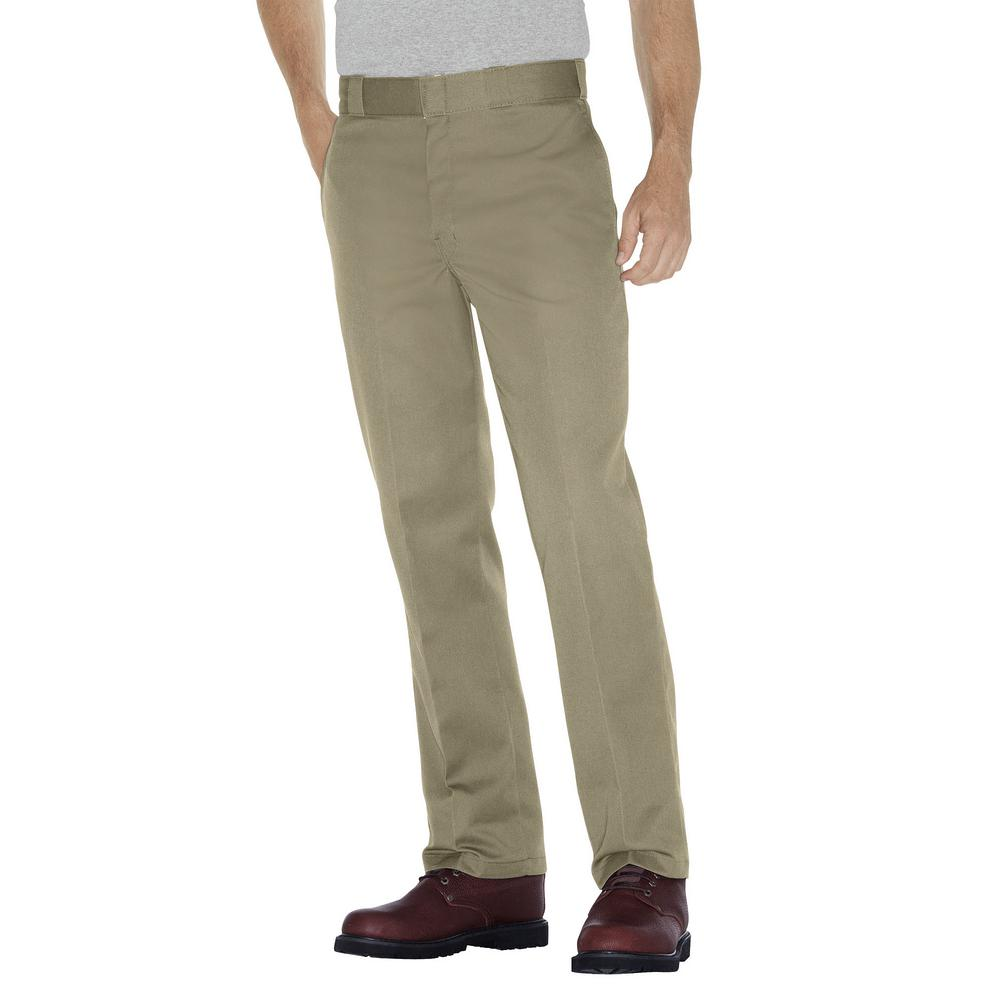 Original 874 Men's 36 in. x 32 in. Khaki Work Pants