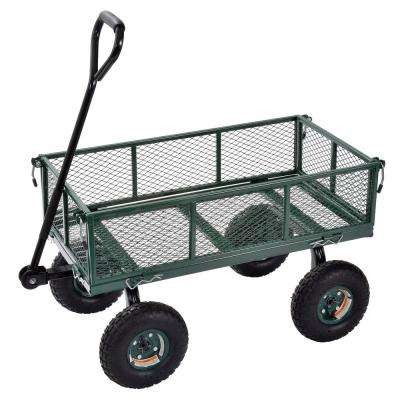 3 cu. ft. 18 in. W Utility Cart