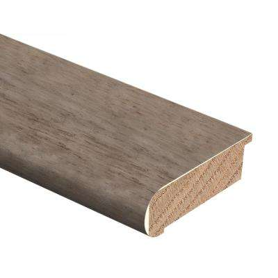 Strand Woven Bamboo Earl Grey 1/2 in. Thick x 2-3/4 in. Wide x 94 in. Length Hardwood Stair Nose Molding