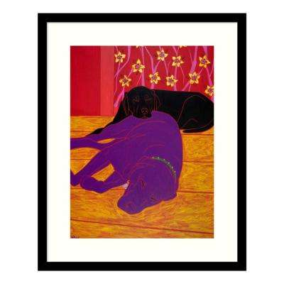 """Let Sleeping Dogs Lie"" by Angela Bond Framed Wall Art"