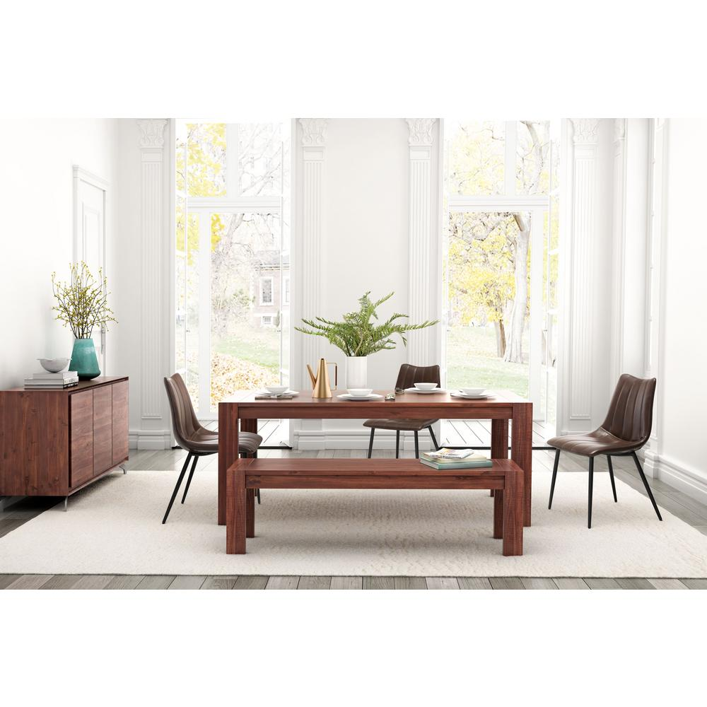 ZUO Norwich Brown Dining Chair Set Of 2