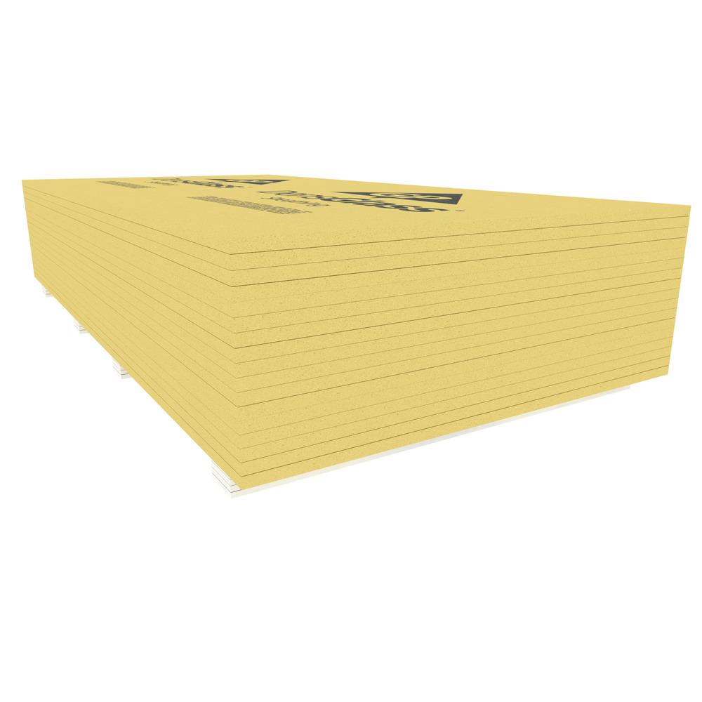 Densglass 5 8 In X 4 Ft X 8 Ft Exterior Wall Sheathing 008553 The Home Depot