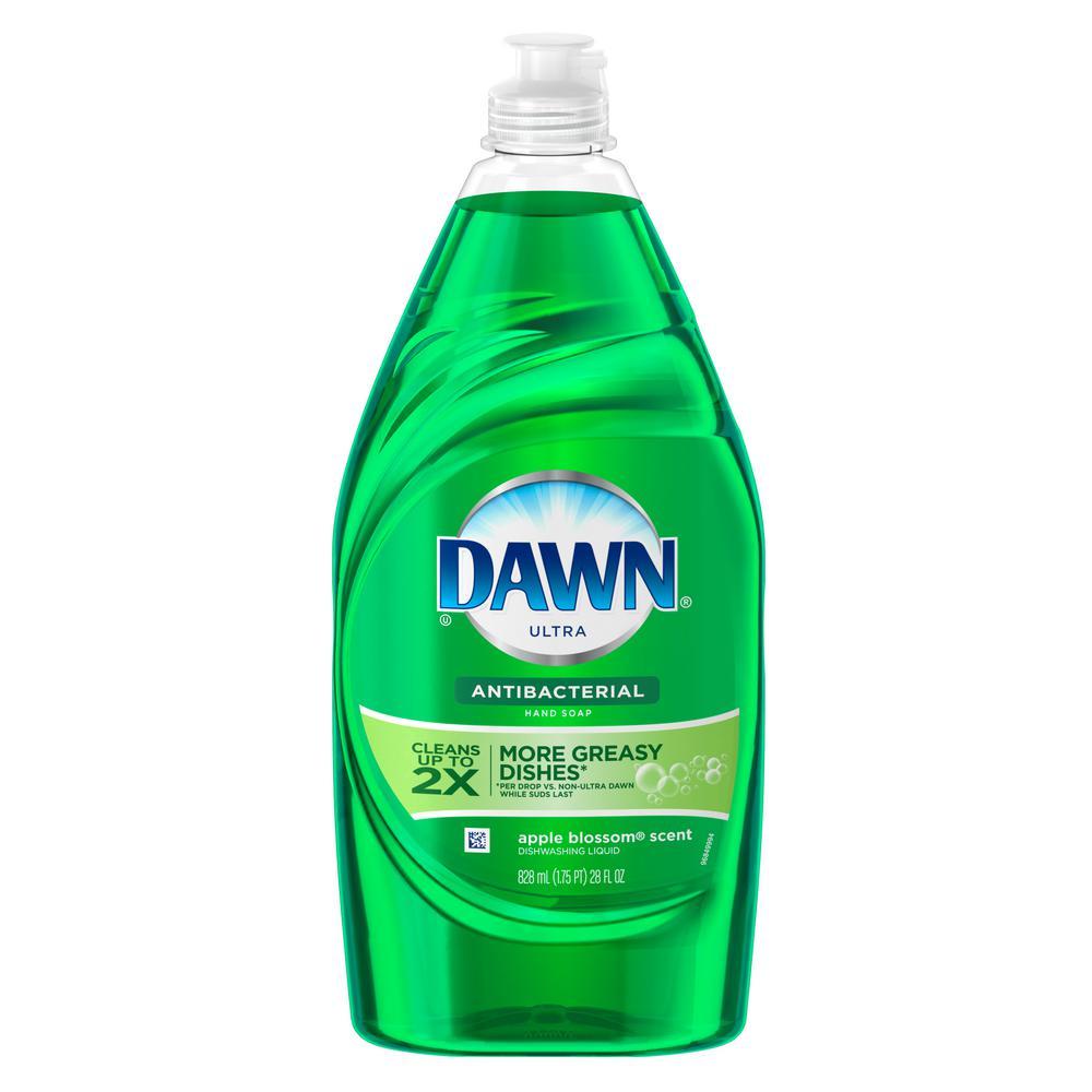 Dawn Ultra Antibacterial 28 oz. Apple Blossom Scent Dish Soap