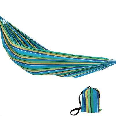 11.5 ft. Fabric Jumbo 2-Person Brazilian Hammock in Sea Grass