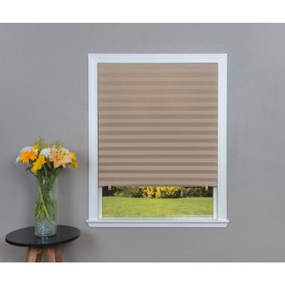 Cafe Paper Light Filtering Cordless Window Shade - 48 in. W x 72 in. L