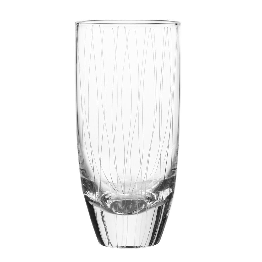 Breeze 21 oz. Highball Glass (4-Piece Set)