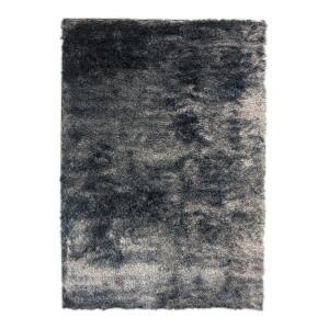 Home Decorators Collection So Silky Salt and Pepper Polyester 9 ft. x 12 ft. Area Rug by Home Decorators Collection