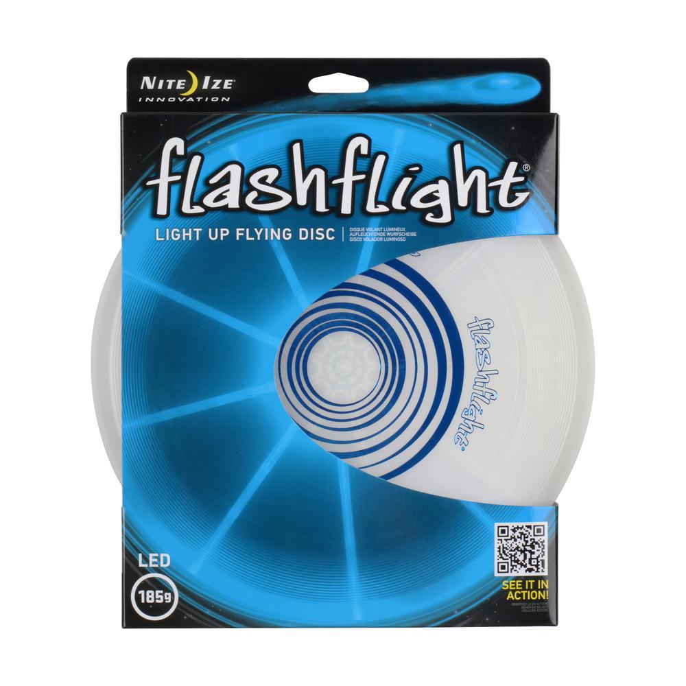 Flashflight LED Light-Up Flying Disc in Blue