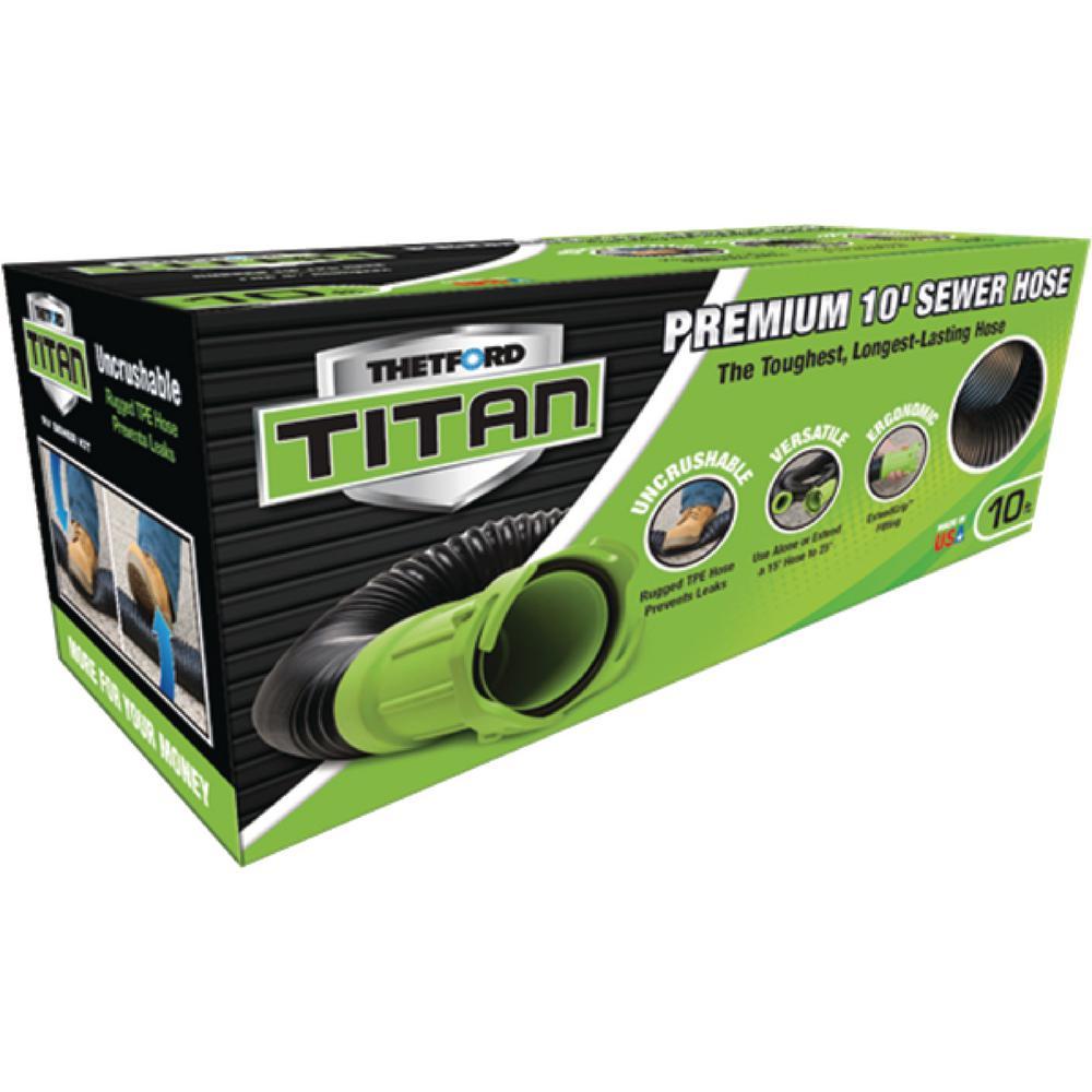 Titan 10 ft. Premium RV Sewer Extension Hose