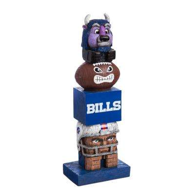 Buffalo Bills Tiki Totem Garden Statue