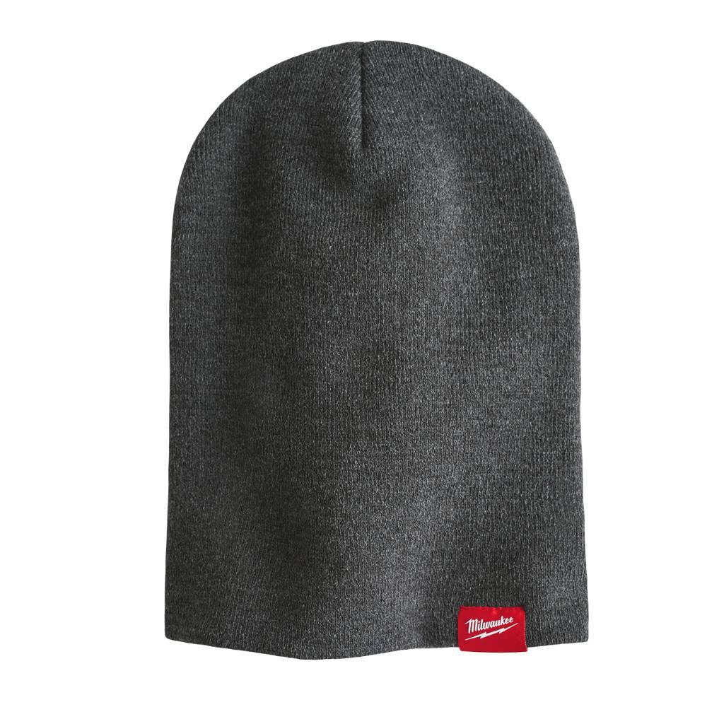 Men's Gray Cuffed Knit Hat