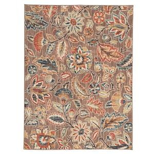 Home Decorators Collection Elyse Taupe 8 ft. x 10 ft. Area Rug by Home Decorators Collection