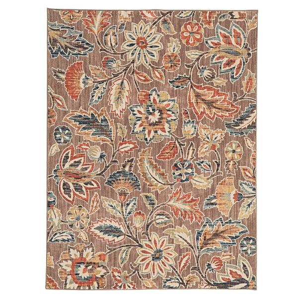 Elyse Taupe 8 Ft X 10