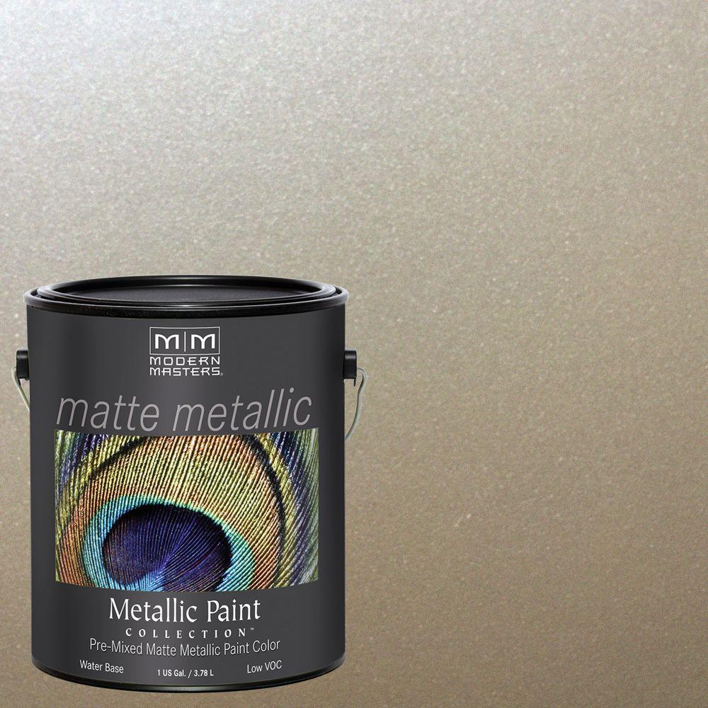 Warm Silver Metallic Interior Paint
