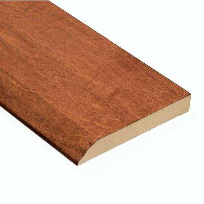 Maple Messina 1/2 in. Thick x 3-1/2 in. Wide x 94 in. Length Hardwood Wall Base Molding