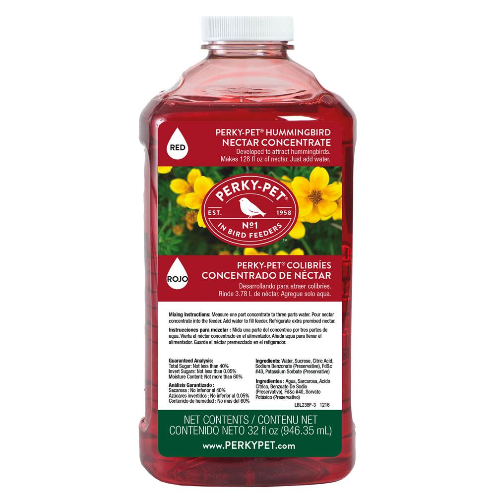 Perky Pet 32 Fl Oz Hummingbird Concentrated Nectar 238 The Home Depot You Can Also Download Instructions As A Pdf Document