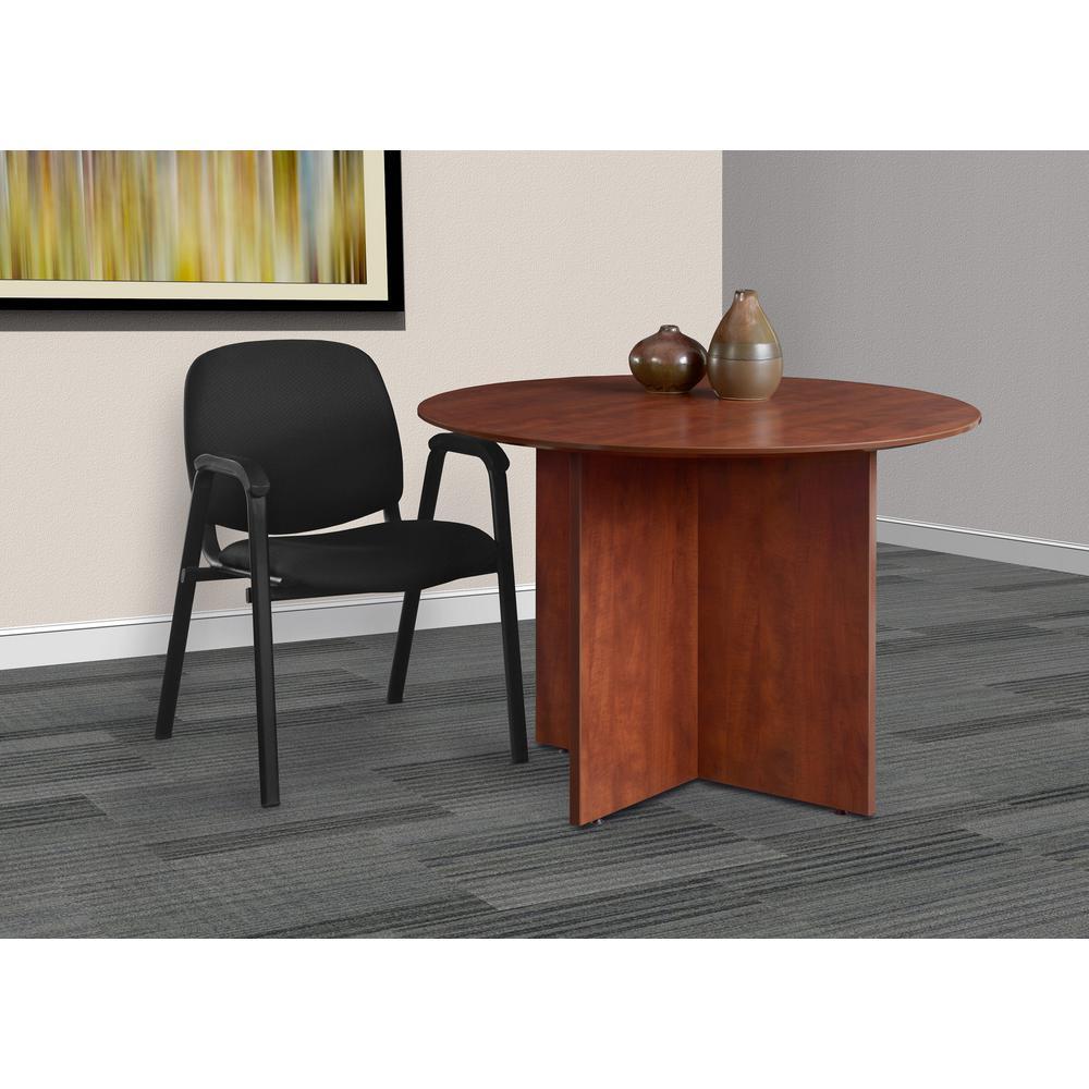 Regency Ace Black Stack Chair Set Midnight Black 14809